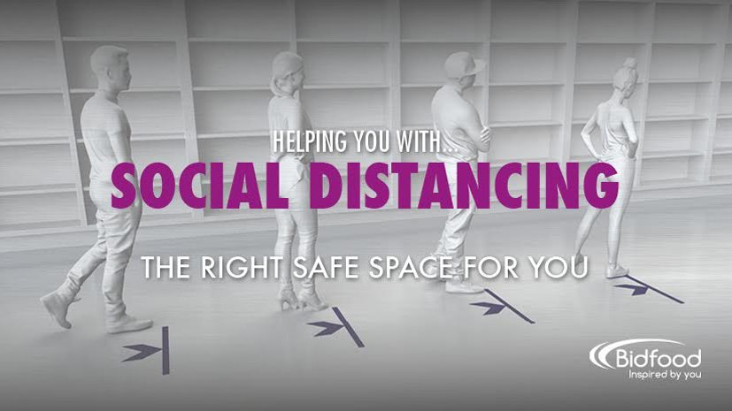 Helping you with... Social distancing