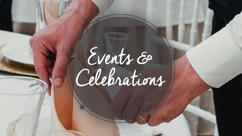 Events & Celebrations